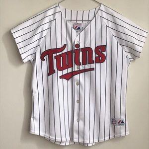 Minnesota Twins MAUER 7 Baseball Jersey
